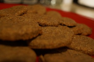 Honey and Peanut Butter Biscuits