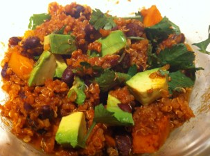 Vegan Quinoa and Sweet Potato Chili