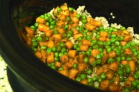 3 - Add Peas and Carrots