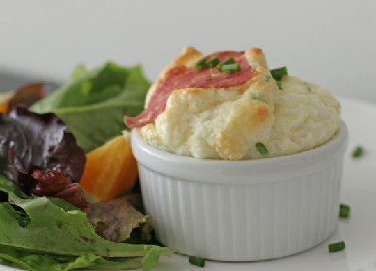 Smoked Cheese Souffle