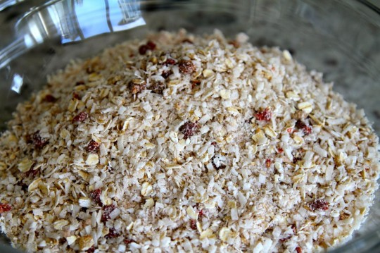 Macaroon Granola Recipe Mix