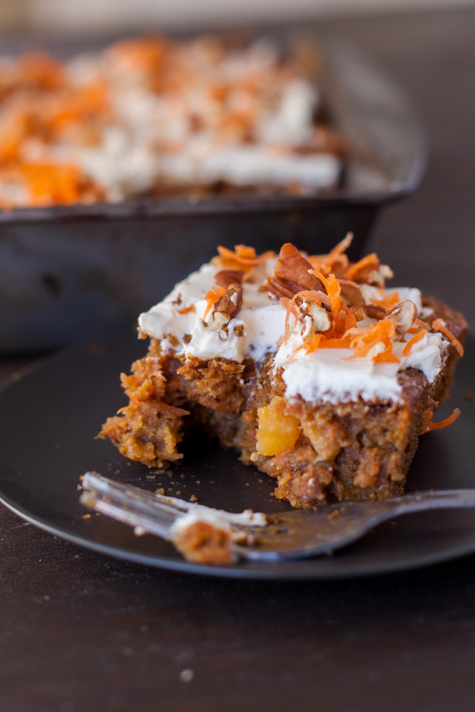 Super Moist Healthy Carrot Cake Recipe