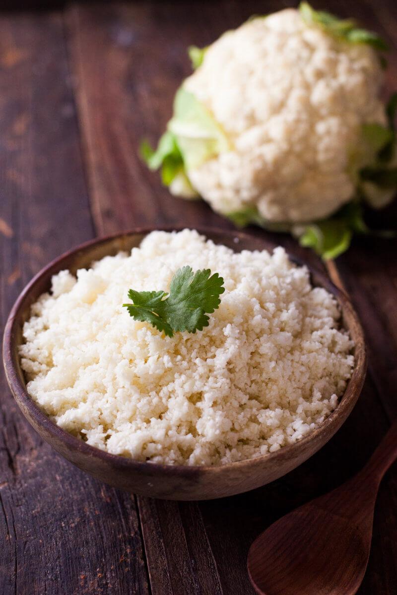 cauliflower rice recipe with stove