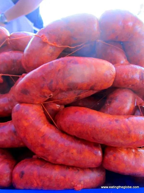 "Chorizo at Tuesday Market/""El Tianguis"""