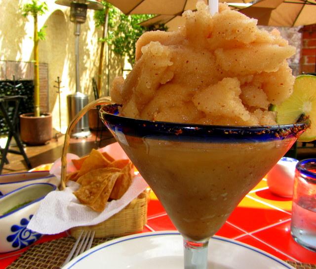 Tamarind Margarita From La Posadita