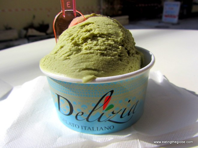 Pistachio Gelato From Delizia