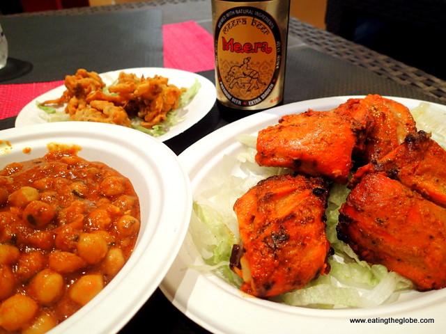 Indian food at Tandoori Cagliari