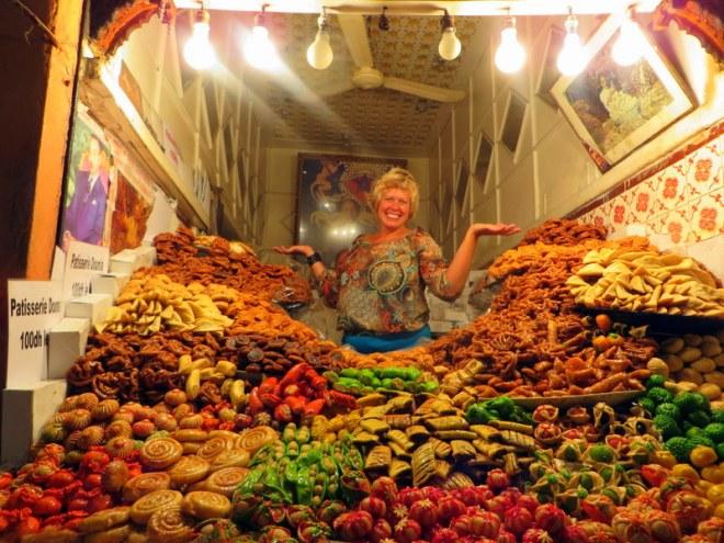 Valen Dawson at Moroccan Market
