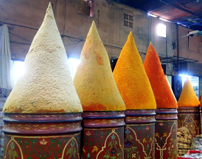 Moroccan spices-Moroccan food