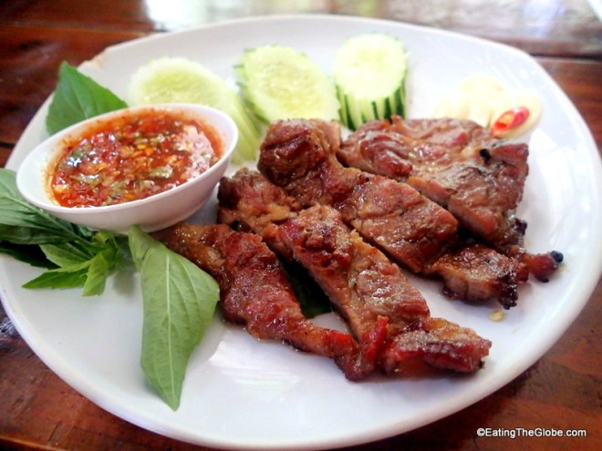 Cherng Doi best grilled chicken Chiang Mai