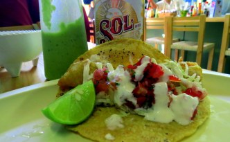 fish tacos in San Miguel Baja Taquito San miguel de allende food