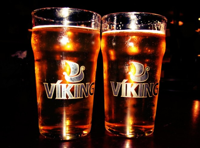 Iceland food Viking beer