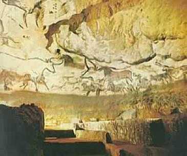 Cave paintings at Lascaux, France, circa 20,000 BC. Late Paleolithic period. This cave complex have provided some of the most important evidence yet of early European life and habits.