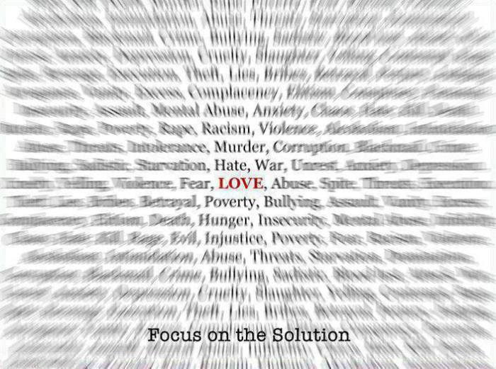 FOCUS ON LOVE