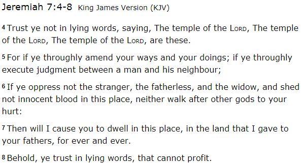 Jeremiah 7_4to8
