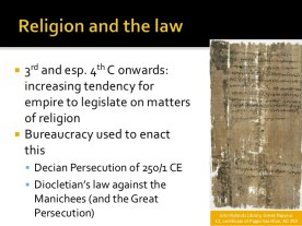 Catholic church and Roman Law are same