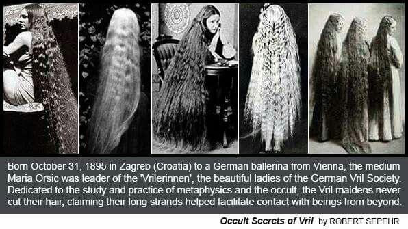 MARIA ORSIC HAIR MONTAGE