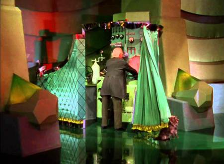 Wizard of OZ Man behind the curtain 1