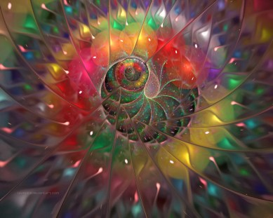 The sacred geometry based on Pi and the Fibonacci Sequence, which Lucifer attempts to duplicate with digital and synthetic physics. This is why structured water works. Everything is frequency. THE WORD created LIGHT, we are children of the Light.