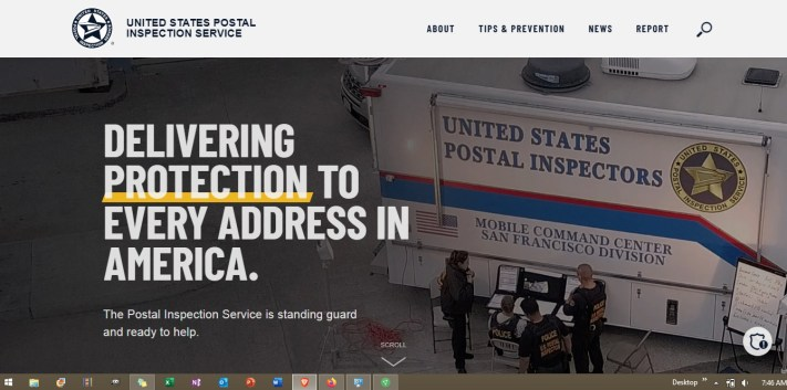 USPS Ready For The Martial Law of RESET