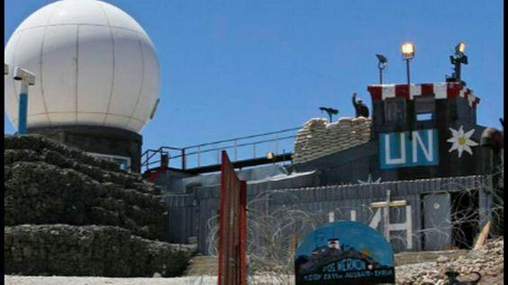 33rd Parallel Mt Hermon UN Base