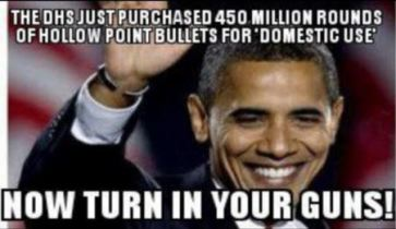 OBAMA HOLLOWPOINT BULLETS FOR USDA 2013