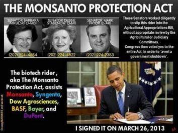 ObamaSigningMonsantoBayerProtectionAct2013