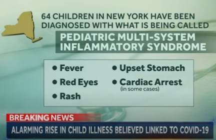 PEDIATRIC MULTI-SYSTEM INFLAMMATORY SYNDROME NBC NEWS 11MAY2020