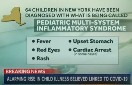 PEDIATRIC MULTI-SYSTEM INFLAMMATORY SYNDROME NBC NEWS 11MAY2020