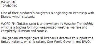 WordFM Radio of Lucifer