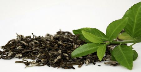 Cigarro de chá verde - folhas