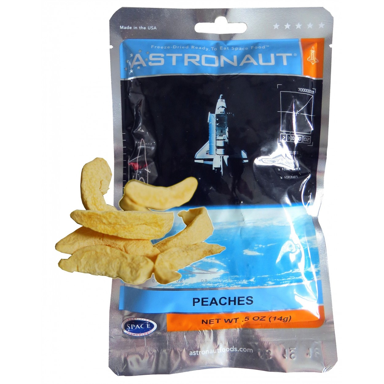 Astronaut food: you'll eat that too