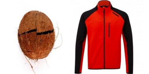 Tecidos de coco