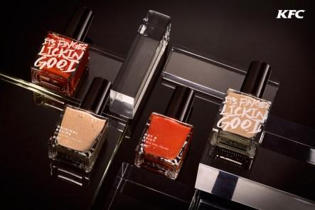 Flavoured nail polish