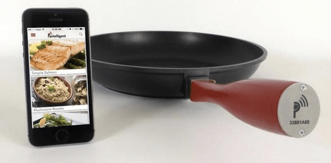 Smart pan and the new kitchen generation