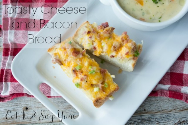 Toasty Cheese and Bacon Bread