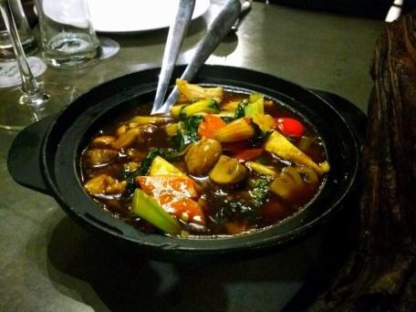 Veg in Hot Basil Sauce