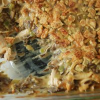 Turkey, Leek, and Wild Rice Casserole