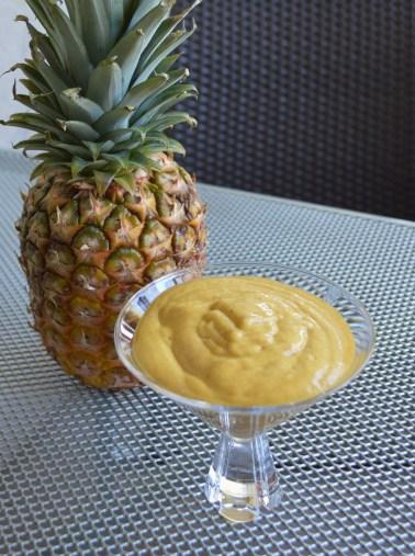 banana mango sorbet