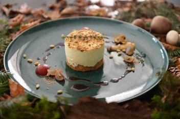 Pilzmousse-Türmchen