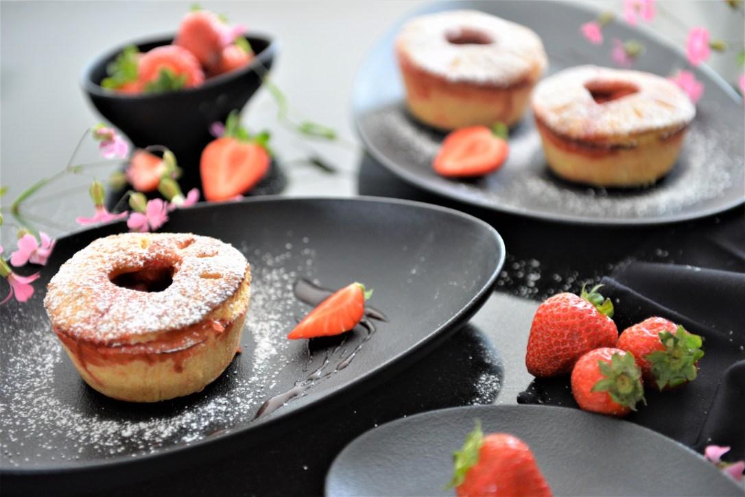 Erdbeer-Pie mit Vanillerahm
