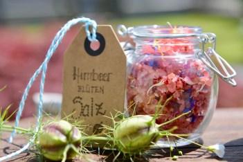 Himbeer-Blütensalz