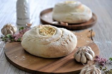 Knoblauch-Brot