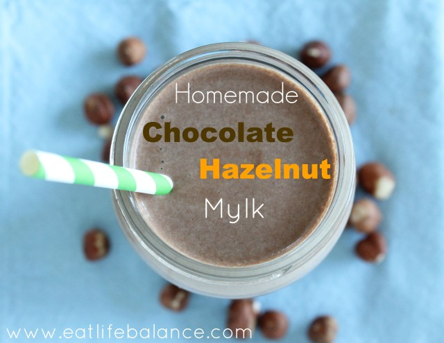 Homemade Chocolate Hazelnut Mylk
