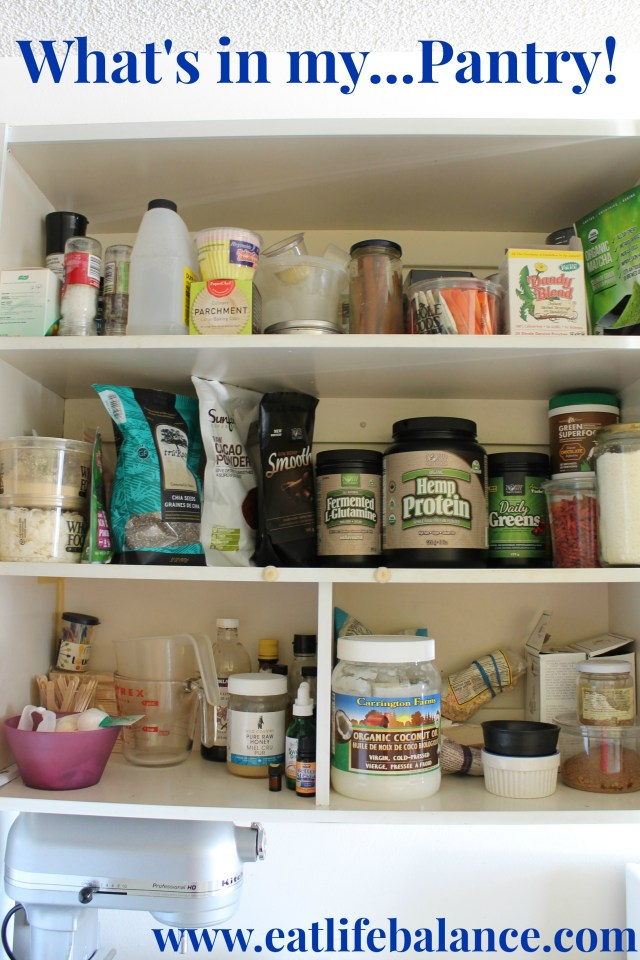 What's in my pantry