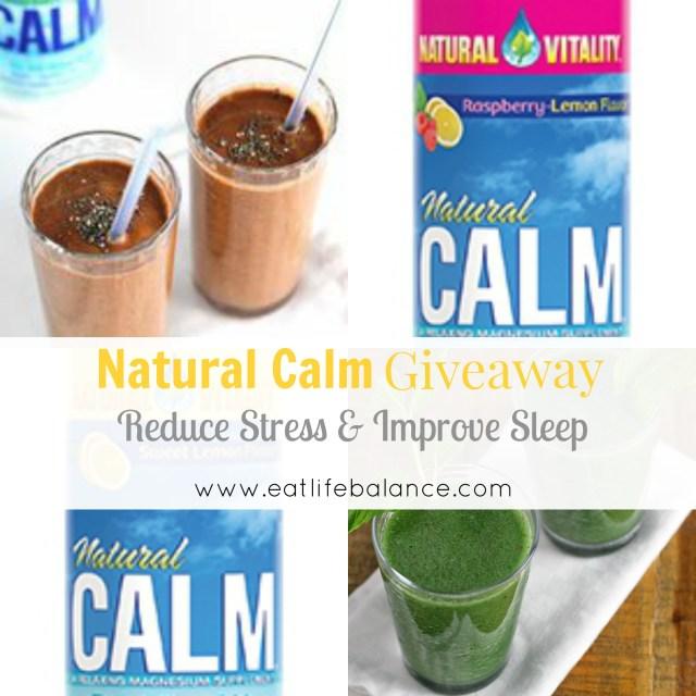Natural Calm giveaway