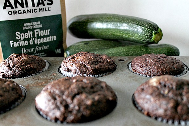 Chocolate Zucchini Muffins 3