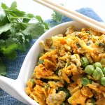 "Ginger & Coconut Vegetarian Fried ""Rice"""
