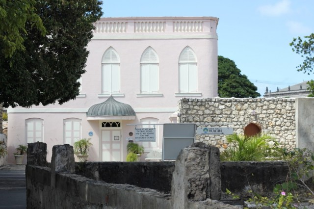 The synagogue in Bridgetown - fascinating history, more soon