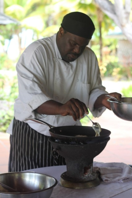 Cooking Banana Fritters with Chef Baka